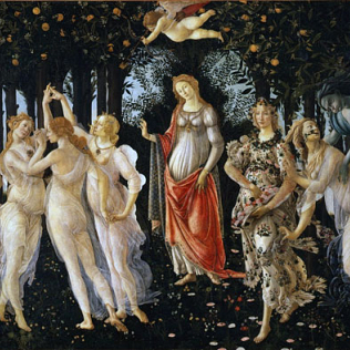 botticelli primavera media