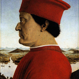 Piero, Double portrait of the Dukes of Urbino 02 480