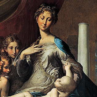 Girolamo Francesco Maria Mazzola   Madonna with the Long Neck