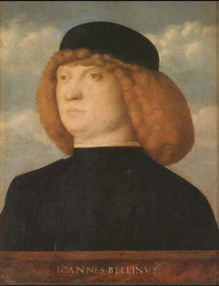 Portrait of a young Man - Giovanni Bellini (Oilo on wood, 31x26)