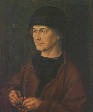 The Artist's Father - Albrecht Dürer (Oil on wood, 47.5x39.5)