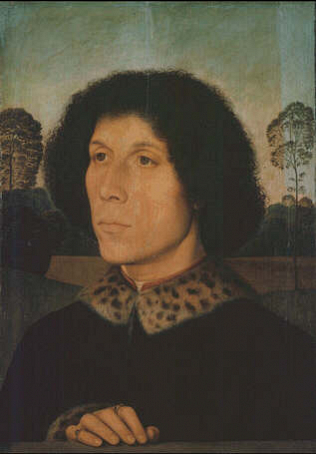 Portrait of a Man - Hans Memling (Oil on wood, 38x27)