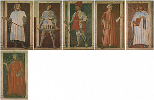 Giovanni Boccaccio - Andrea del Castagno (Fresco removed and transferred to canvas, 250x154)