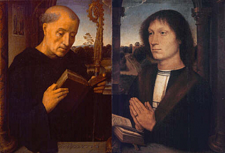 Portrait of Benedetto Portinari - Hans Memling (Oil on wood, 45x34)